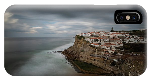 IPhone Case featuring the photograph Coastal Village Of Azenhas Do Mar In Portugal by Michalakis Ppalis