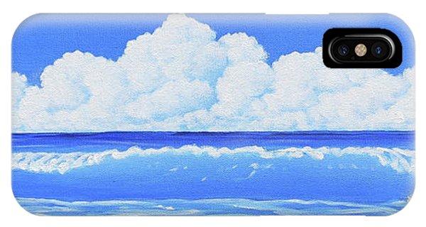 Cobalt Wave IPhone Case