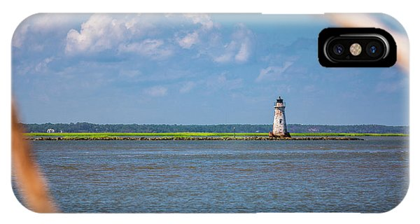 Cockspur Island Light IPhone Case