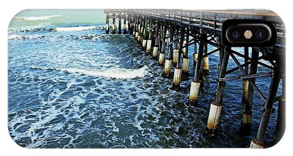 Tiki Bar iPhone Case - Cocoa Beach Pier by Debbie Oppermann
