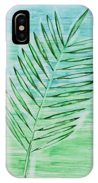 Coconut Leaf IPhone Case