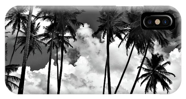 Coconut Trees At Mayaro IPhone Case