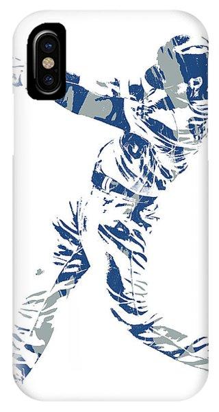 d76a9f0e62d Los Angeles Dodgers iPhone Case - Cody Bellinger Los Angeles Dodgers Pixel  Art 12 by Joe