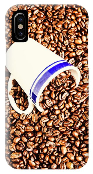 Energy iPhone Case - Coffee Tips by Jorgo Photography - Wall Art Gallery