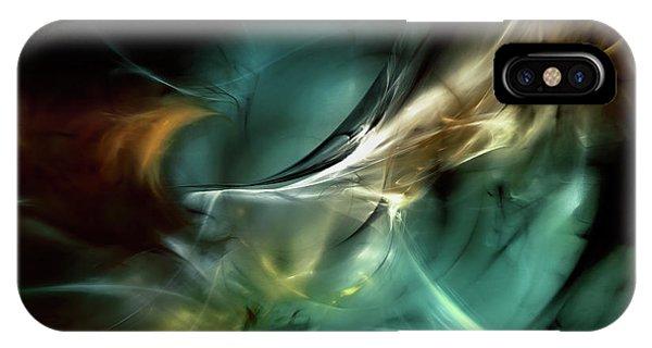 Fractal iPhone Case - Cold Fusion by Scott Norris