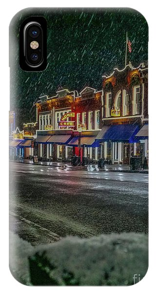 Cold Night In Cripple Creek IPhone Case