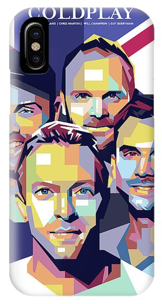 Coldplay iPhone Case - Coldplay by Laksana Ardie