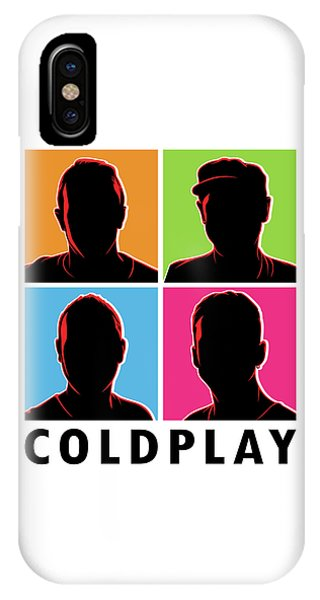 Coldplay iPhone Case - Coldplay Silhouette by Laksana Ardie