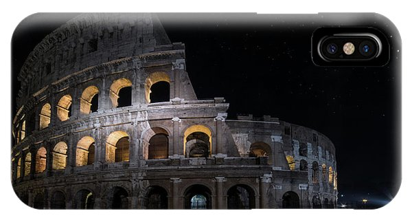 iPhone Case - Coliseum At Night by Jaroslaw Blaminsky