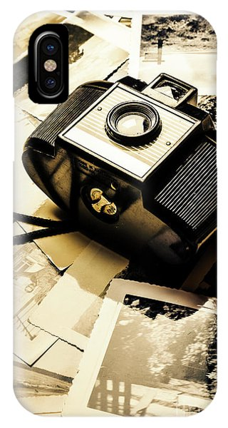 Vintage Camera iPhone Case - Collecting Scenes by Jorgo Photography - Wall Art Gallery