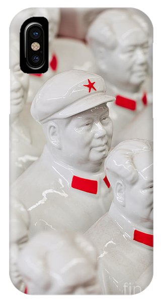 Object iPhone Case - Collection White Mao Zedong Sculptures by Tonyv3112