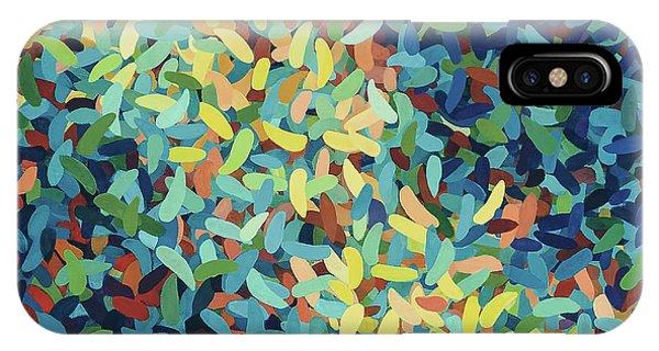 Far North Queensland iPhone Case - Collective, Colour Rhythms 1 by Kerryn Madsen-Pietsch