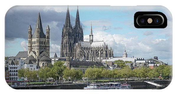 IPhone Case featuring the photograph Cologne, Germany by Jim Mathis