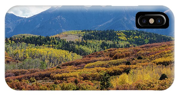 IPhone Case featuring the photograph Colorado Color Bonanza by James BO Insogna
