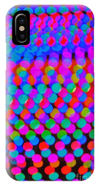 Colored Lights IPhone Case