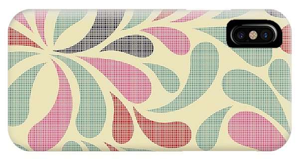 Texture iPhone Case - Colorful Abstract Seamless Pattern by Nataliia Kucherenko