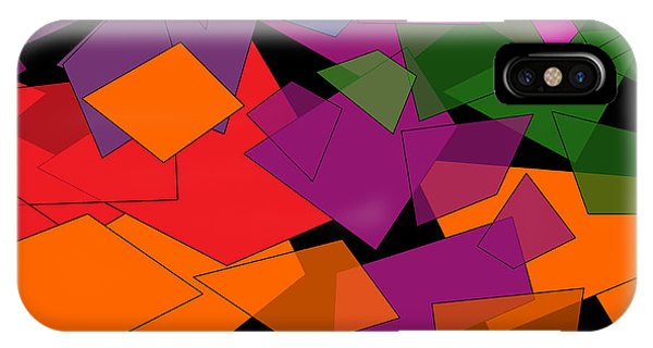 Colorful Chaos IPhone Case