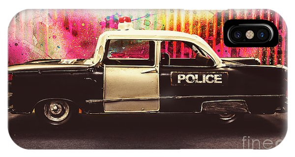 iPhone Case - Colorful Crime  by Jorgo Photography - Wall Art Gallery