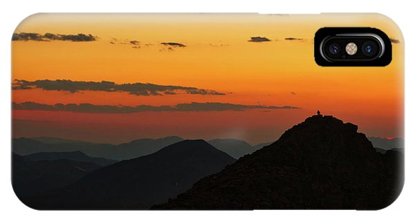 Evening At Mount Evans IPhone Case