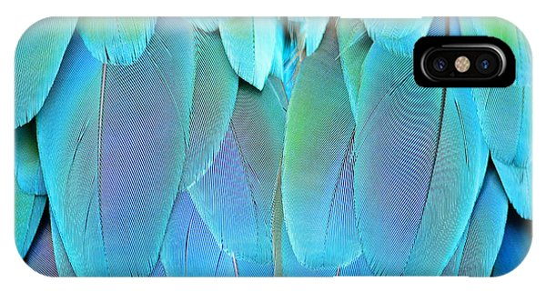 Parrots iPhone Case - Colorful Feathers, Harlequin Macaw by Panu Ruangjan