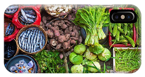 Organic iPhone Case - Colorful Fish And Vegetables Can Be by Edmund Lowe Photography
