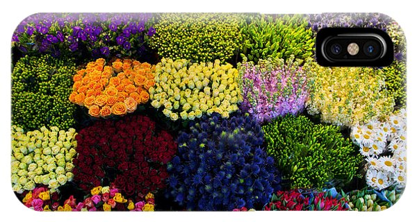 Bouquet iPhone Case - Colorful Flowers In A Florists by Photocreo Michal Bednarek
