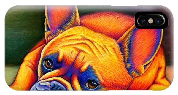 Daydreamer - Colorful French Bulldog IPhone Case