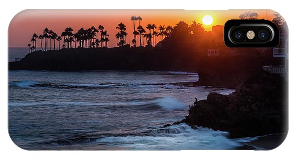 Colorful Laguna Beach Sunset IPhone Case