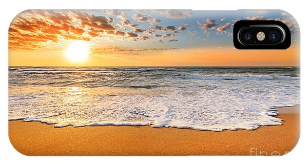 Martin iPhone Case - Colorful Ocean Beach Sunrise by Vrstudio