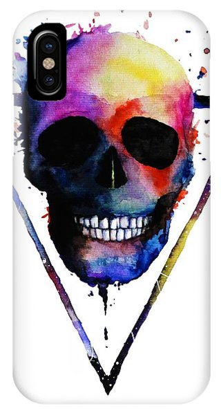 Katrina iPhone Case - Colorful Skull by ArtMarketJapan