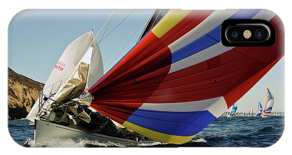 Colorful Spinnaker Run IPhone Case