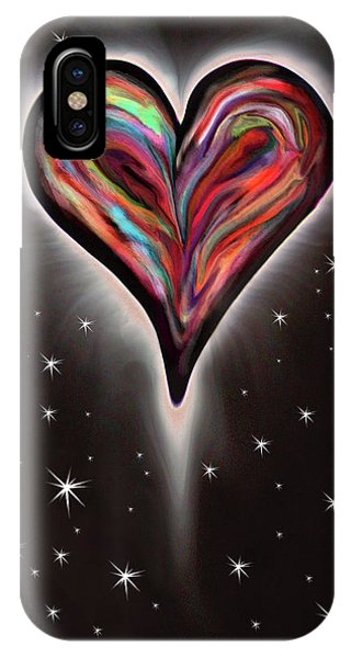 For Better Or For Worse iPhone Case - Colorful Total Eclipse Of The Heart 1 by Her Arts Desire