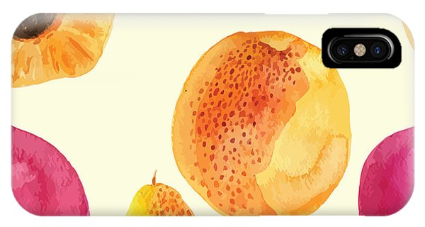 Colorful  Watercolor Vector Fresh Phone Case by Alexandra Dzh