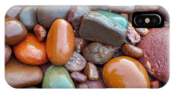 Colorful Wet Stones IPhone Case