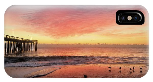 IPhone Case featuring the photograph Colors Of Dawn by Robert Banach