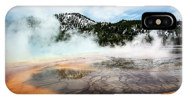 IPhone Case featuring the photograph Colors Of Yellowstone by Scott Read
