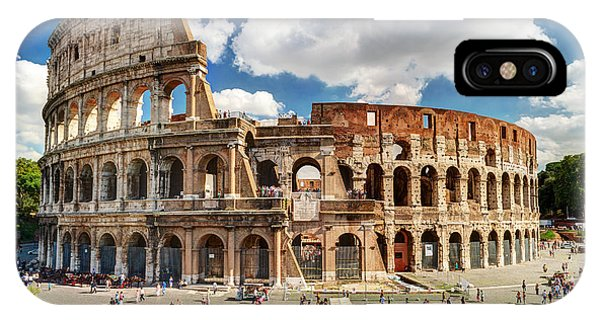 Colosseum In Rome, Italy. Ancient Roman Phone Case by Viacheslav Lopatin