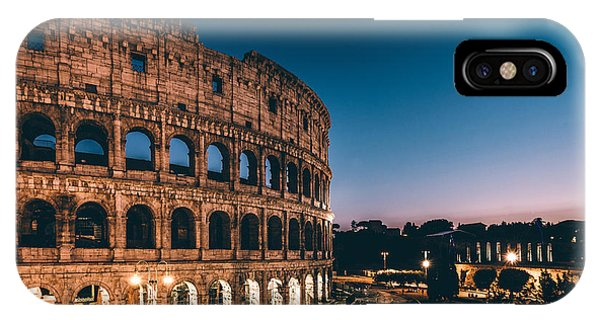 Ancient Rome iPhone Case - Colosseum by Tom Bennink