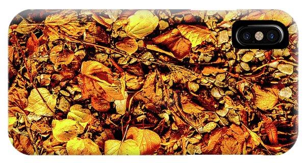 Colours. Autumn Gold IPhone Case
