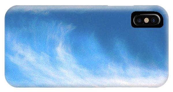 Colours. Blue IPhone Case