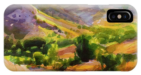 Agriculture iPhone Case - Columbia County Backroads by Steve Henderson