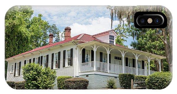 Columbia County Visitors Center - Savannah Rapids IPhone Case