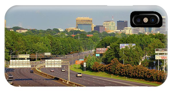 IPhone Case featuring the photograph Columbia Skyline From Greystone by Joseph C Hinson Photography