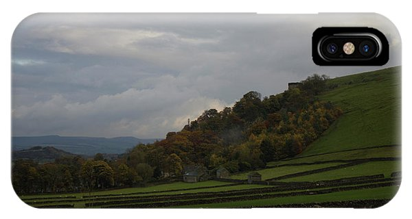 Derbyshire Stone Walls IPhone Case