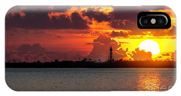 Navigation iPhone Case - Competing With The Sun by Marvin Spates