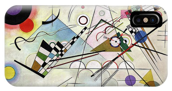 Illusion iPhone Case - Composition 8 - Komposition 8 by Wassily Kandinsky