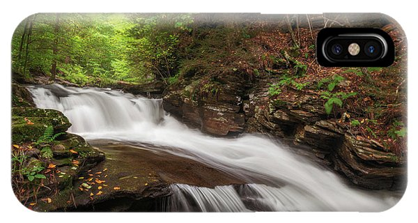 IPhone Case featuring the photograph Conestoga Falls by Sharon Seaward