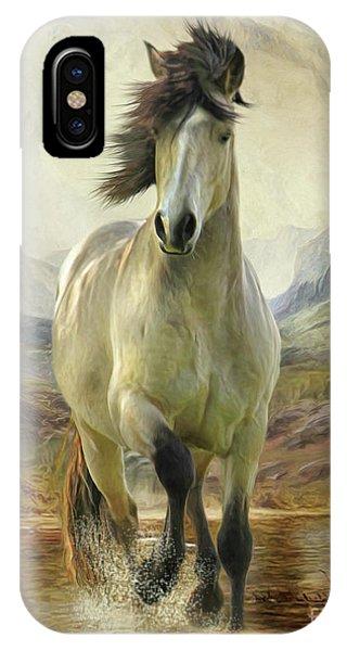 Connemara Pony Of The Moors IPhone Case