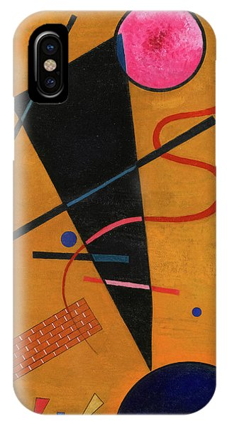 Illusion iPhone Case - Contact, 1924 by Wassily Kandinsky