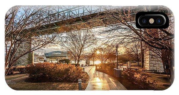 Coolidge Park Path At Sunset IPhone Case